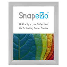 "Load image into Gallery viewer, 36x48 Silver SnapeZo® Return Snap Frame - 2.2"" Profile"