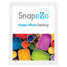 "Load image into Gallery viewer, 32x40 White SnapeZo® Snap Frame - 1.7"" Profile"