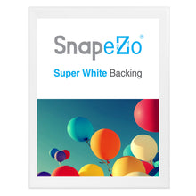 "Load image into Gallery viewer, 34x44 White SnapeZo® Snap Frame - 1.7"" Profile"