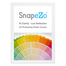 "Load image into Gallery viewer, 34x48 White SnapeZo® Snap Frame - 1.7"" Profile"
