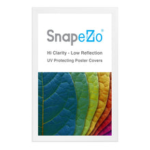 "Load image into Gallery viewer, 32x50 White SnapeZo® Snap Frame - 1.7"" Profile"