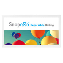"Load image into Gallery viewer, 24x48 White SnapeZo® Snap Frame - 1.7"" Profile"