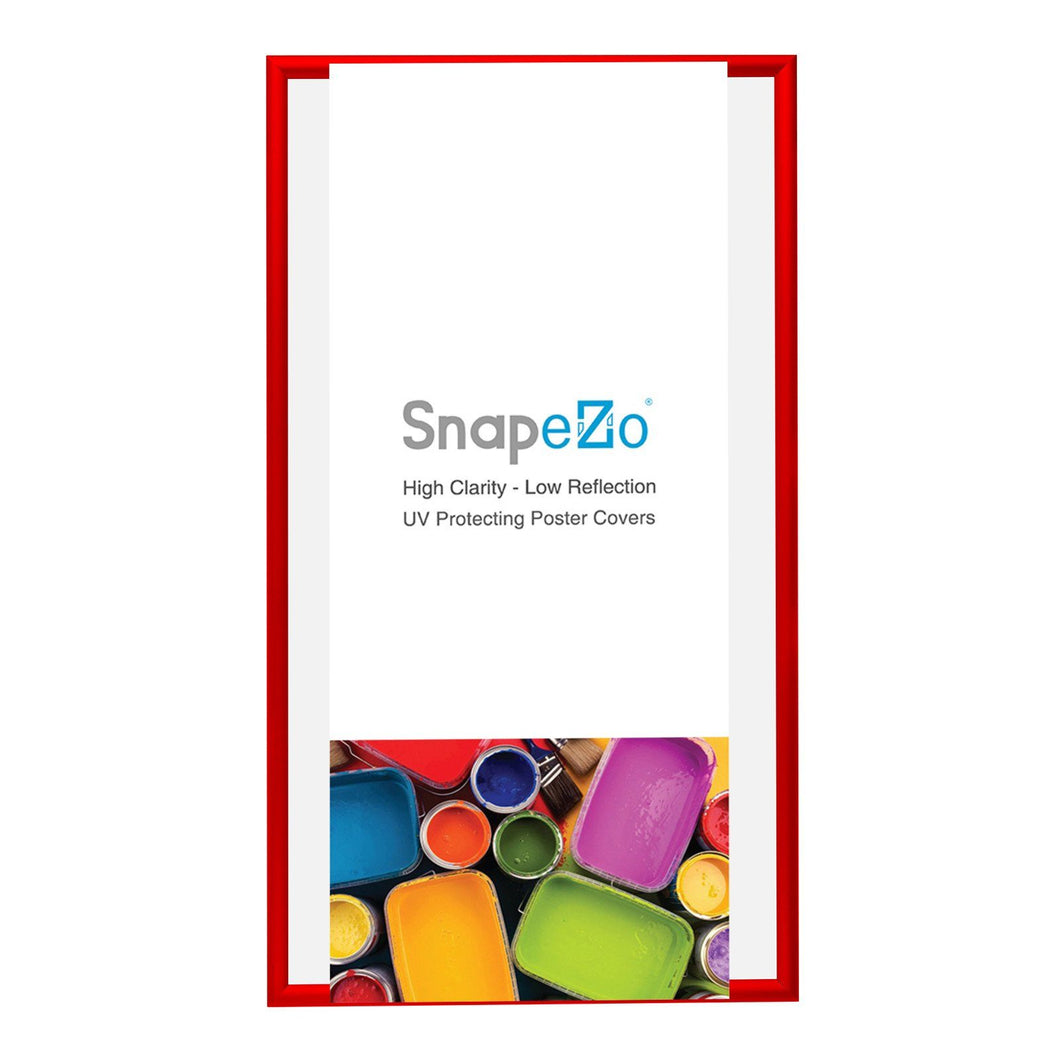 22x56 Red SnapeZo® Snap Frame - 1.7