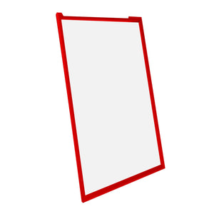 "22x56 Red SnapeZo® Snap Frame - 1.7"" Profile"