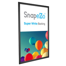 Load image into Gallery viewer, 27x40 Black SnapeZo Snap Frame - 1.2 Inch Profile