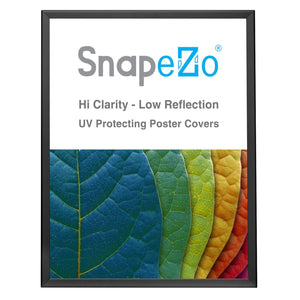 Black double-sided snap frame poster size 24X30 - 1.25 inch profile - Snap Frames Direct