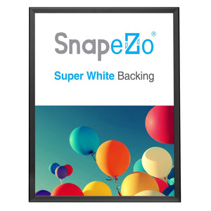 Black double-sided snap frame poster size 36x48 - 1.25 inch profile - Snap Frames Direct
