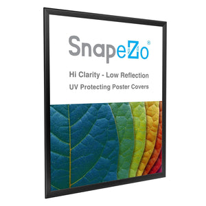 "36x48 Black SnapeZo® Double-Sided - 1.25"" Profile"