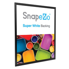 "Load image into Gallery viewer, 24x30 Black SnapeZo® Double-Sided - 1.25"" Profile"