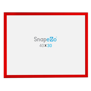 "30x40 Red SnapeZo® Return Snap Frame - 1.25"" Profile"