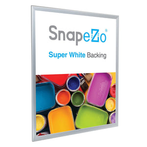 "24x30 Silver SnapeZo® Double-Sided - 1.25"" Profile"