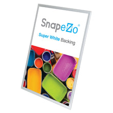 "Load image into Gallery viewer, 32x50 Silver SnapeZo® Snap Frame - 1.25"" Profile"