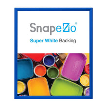 "Load image into Gallery viewer, 28x32 Blue SnapeZo® Snap Frame - 1.2"" Profile"