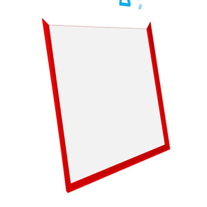 "28x32 Red SnapeZo® Snap Frame - 1.2"" Profile"