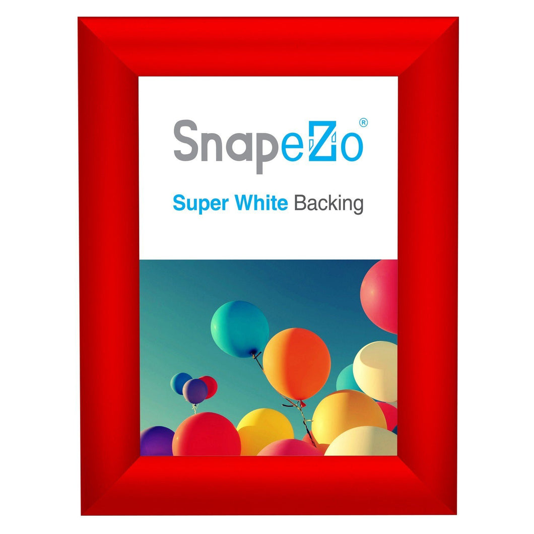 5x7 Red SnapeZo® Return Snap Frame - 1