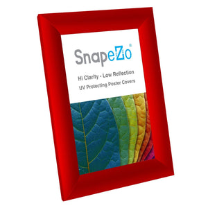 "5x7 Red SnapeZo® Return Snap Frame - 1"" Profile"
