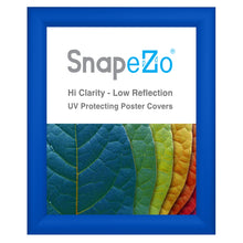 "Load image into Gallery viewer, 10x12 Blue SnapeZo® Snap Frame - 1.2"" Profile"