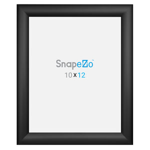 Black snap frame photo size 10x12 - 1.2 inch profile - Snap Frames Direct
