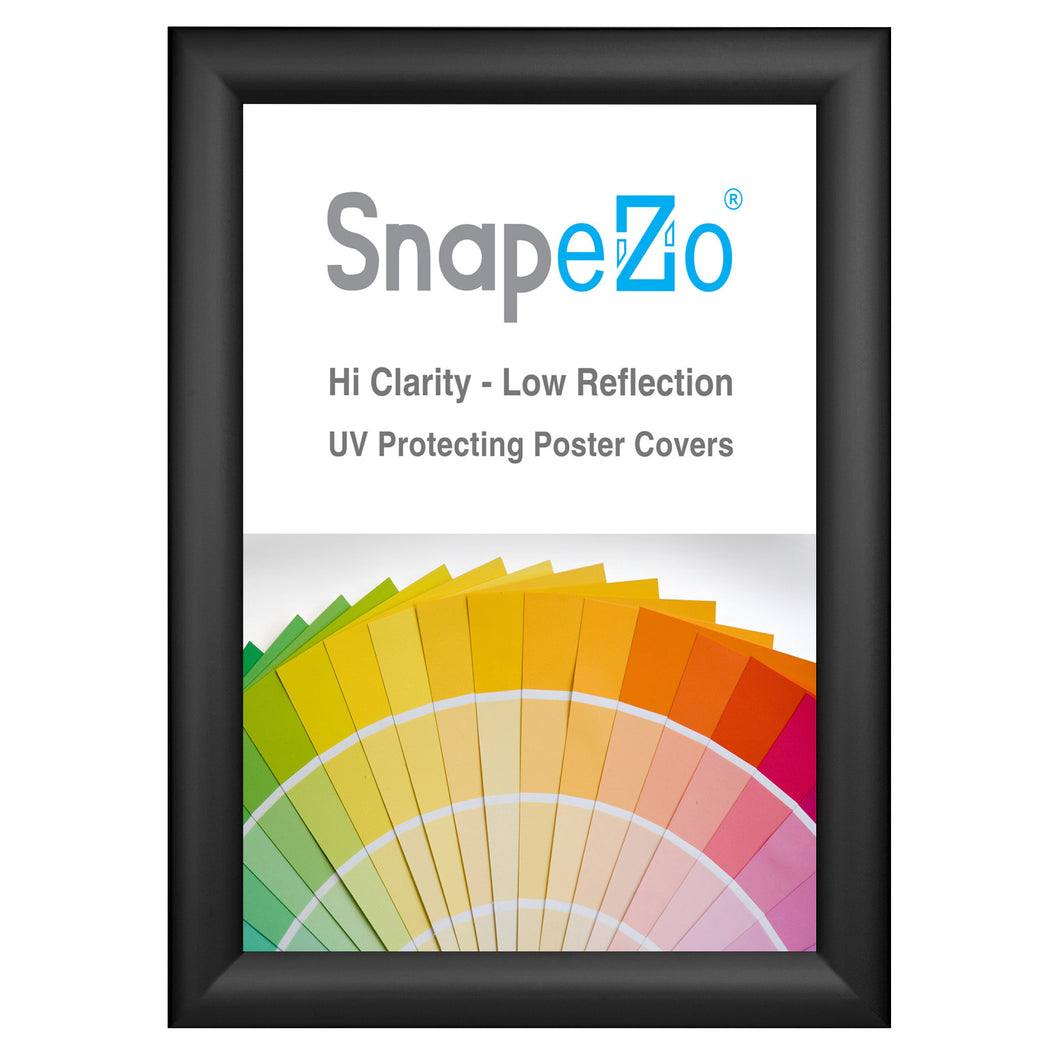 Black snap frame photo size 11x14 - 1.2 inch profile - Snap Frames Direct