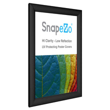 "Load image into Gallery viewer, 11x14 Black SnapeZo® Snap Frame - 1.2"" Profile"