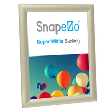 "Load image into Gallery viewer, 8x10 Cream SnapeZo® Snap Frame - 1"" Profile"