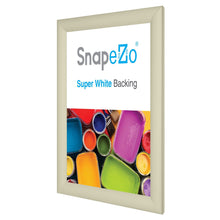 "Load image into Gallery viewer, 8.5x11 Cream SnapeZo® Return Snap Frame - 1.2"" Profile"