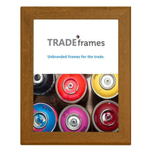 Load image into Gallery viewer, Dark Wood certificate snap frame poster size 8.5X11 - 1.25 inch profile - Snap Frames Direct
