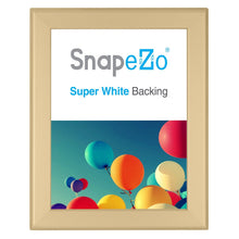 "Load image into Gallery viewer, 8x10 Gold SnapeZo® Return Snap Frame - 1.25"" Profile"