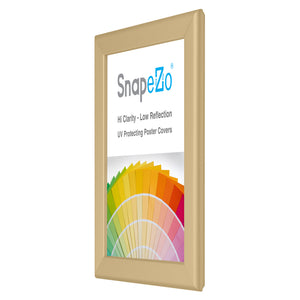 "8.5x11 Gold SnapeZo® Snap Frame - 1.25"" Profile"