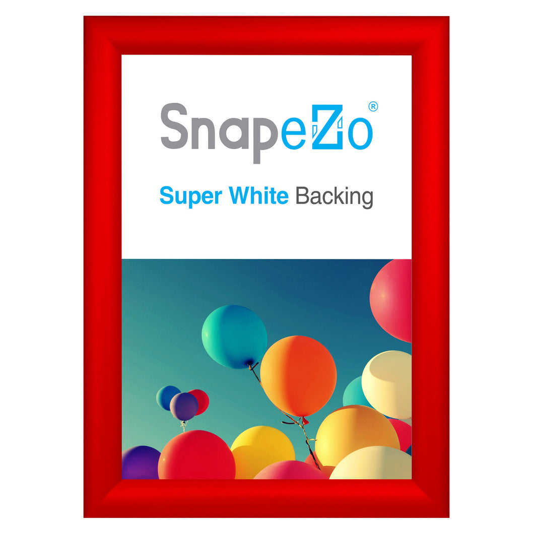 A4 Red SnapeZo® Snap Frame - 1.2