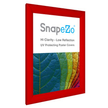 "Load image into Gallery viewer, A4 Red SnapeZo® Snap Frame - 1.2"" Profile"