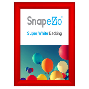 "11x14 Red SnapeZo® Snap Frame - 1.2"" Profile"