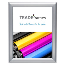 "Load image into Gallery viewer, 8.5x11 Silver TRADEframe Window - 1"" Profile"