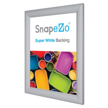 "Load image into Gallery viewer, 11x15 Silver SnapeZo® Return Snap Frame - 1.2"" Profile"
