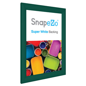 "11x17 Green SnapeZo® Snap Frame - 1.2"" Profile"