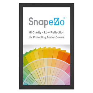 "8.5x14 Black SnapeZo® Snap Frame - 0.8"" Profile"