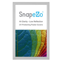 "Load image into Gallery viewer, 8.5x14 Silver SnapeZo® Snap Frame - 0.8"" Profile"