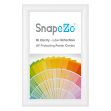 "Load image into Gallery viewer, 8.5x14 White SnapeZo® Snap Frame - 1.2"" Profile"