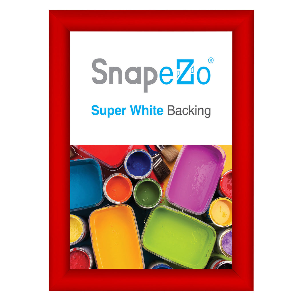 A4 Red SnapeZo® Snap Frame - 1