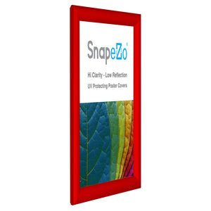 "A4 Red SnapeZo® Snap Frame - 1"" Profile"