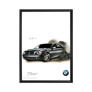 Black snap frame poster size 18X24 - 2.2 inch profile - Snap Frames Direct