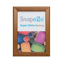 Load image into Gallery viewer, Dark Wood snap frame poster size 22x56 - 1.25 inch profile - Snap Frames Direct