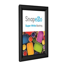 "Load image into Gallery viewer, 10x18 Black SnapeZo® Return Snap Frame - 1.2"" Profile"