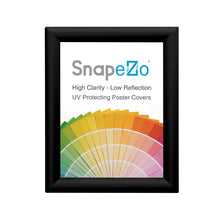 "Load image into Gallery viewer, 11x17 Black SnapeZo® Return Locking - 1.25"" Profile"