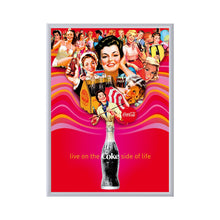 Load image into Gallery viewer, Silver snap frame poster size 40x60 - 1.7 inch profile - Snap Frames Direct