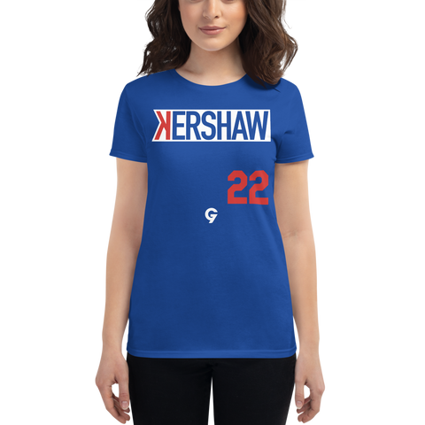 Kershaw 22 - Women's short sleeve t-shirt
