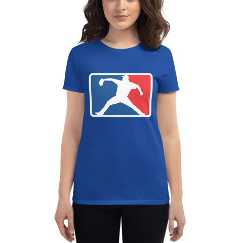 Kershaw League Baseball - Women's short sleeve t-shirt