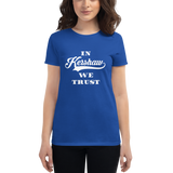 Trust in Kershaw - Women's short sleeve t-shirt