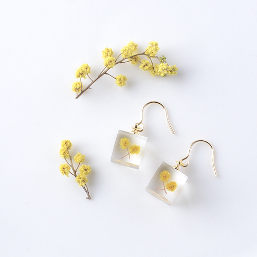 The Great Nature Earrings - Mimosa (hook)