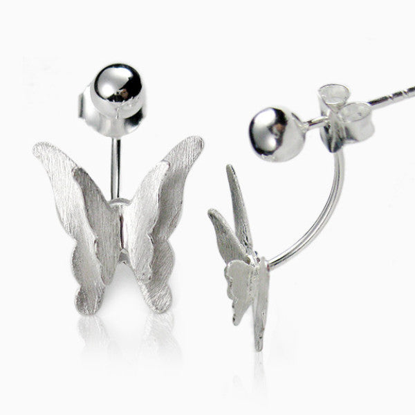 Double Butterflies Earrings